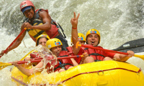 Rafting Group in Corobici River