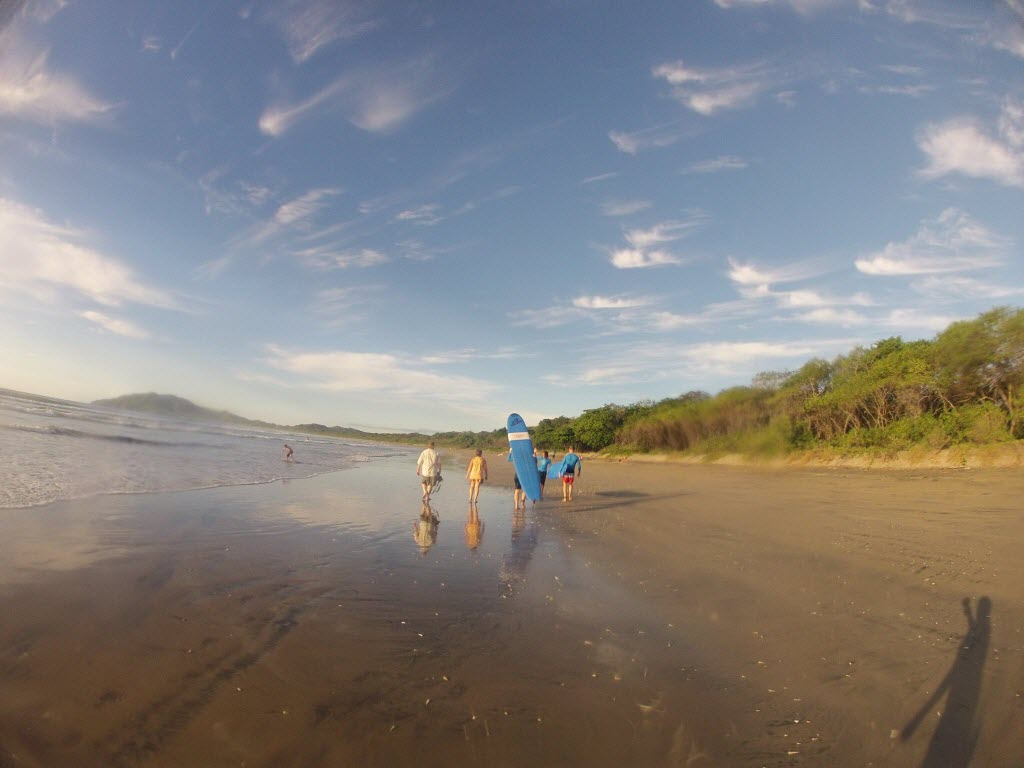 Surf Lessons at Playa Grande Costa Rica