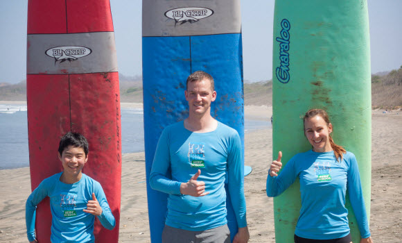Surf Lessons in Playa Grande Costa Rica